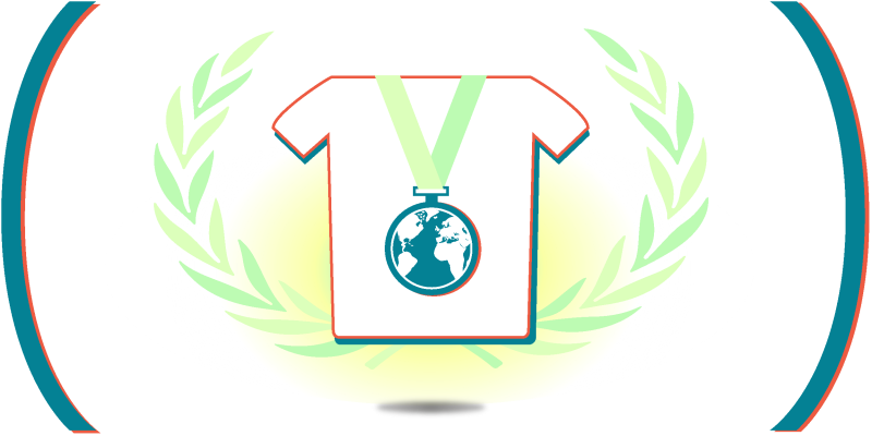 médaille terre lauriers défi