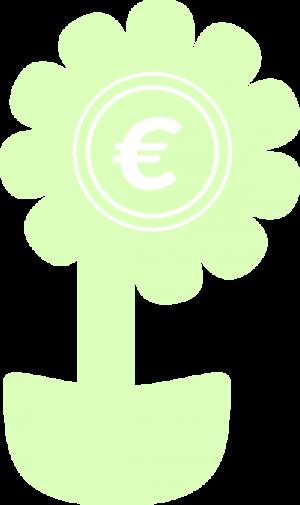 fleur verte euro